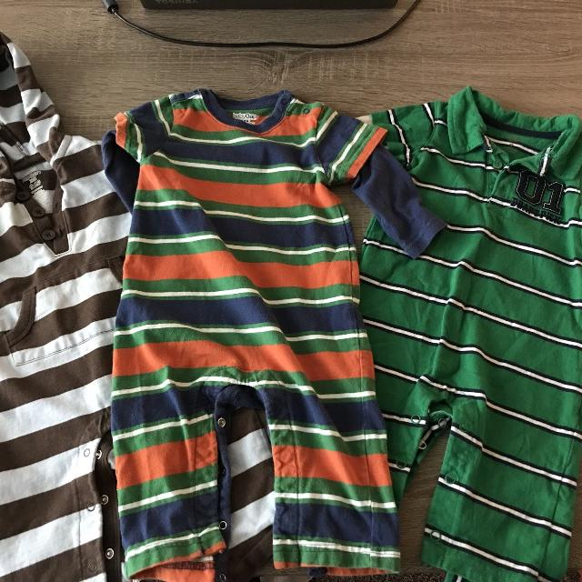 2b12342f722f Find more 3 Boys Rompers - Baby Gap carters old Navy 6-12mo for sale ...