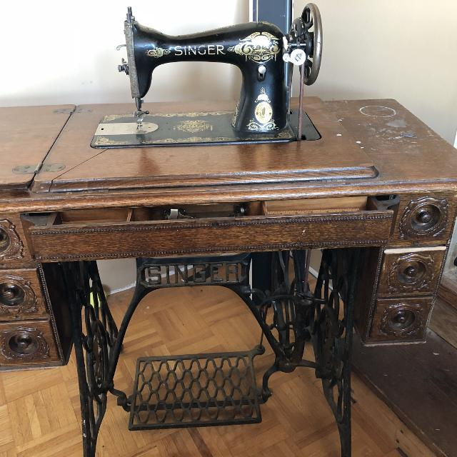 Best Treadle Singer Sewing Machine 4040 For Sale In Sherwood Interesting 1910 Singer Sewing Machine For Sale
