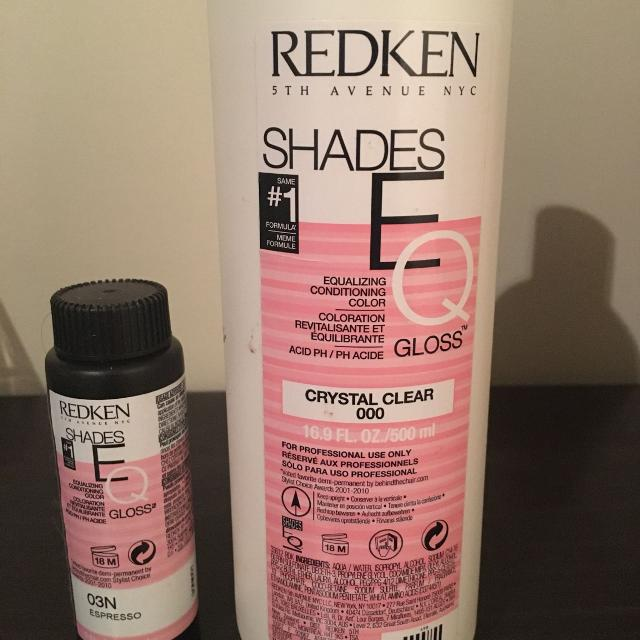 Best Redken Shades Eq Clear Gloss And Espresso For Sale In Pensacola