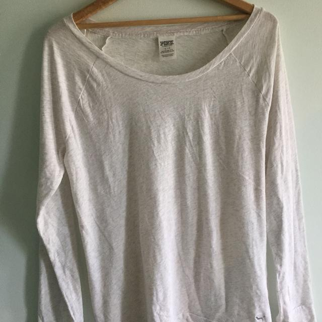 223c1a0d133 Best White Long Sleeve Shirt - Pink - Victoria Secret- Large for sale in  Calgary, Alberta for 2019