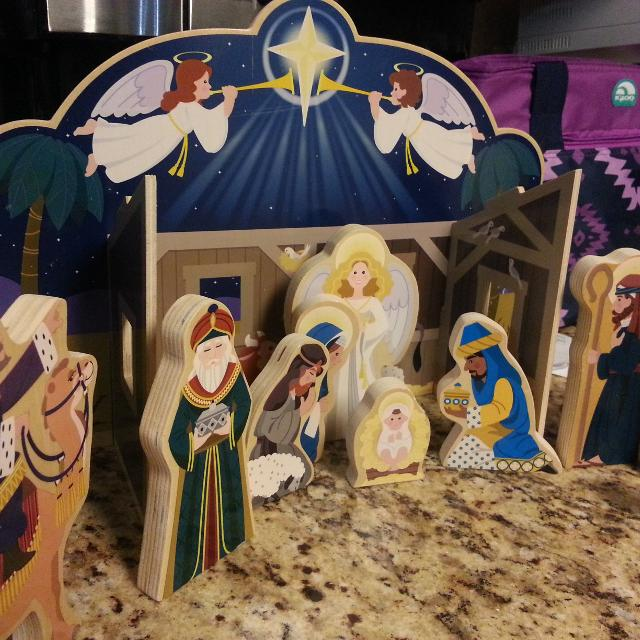 Wooden Nativity Set By Melissa And Doug