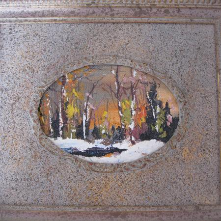 Used, Framed Oil Painting Laurentian Winter... for sale  Canada