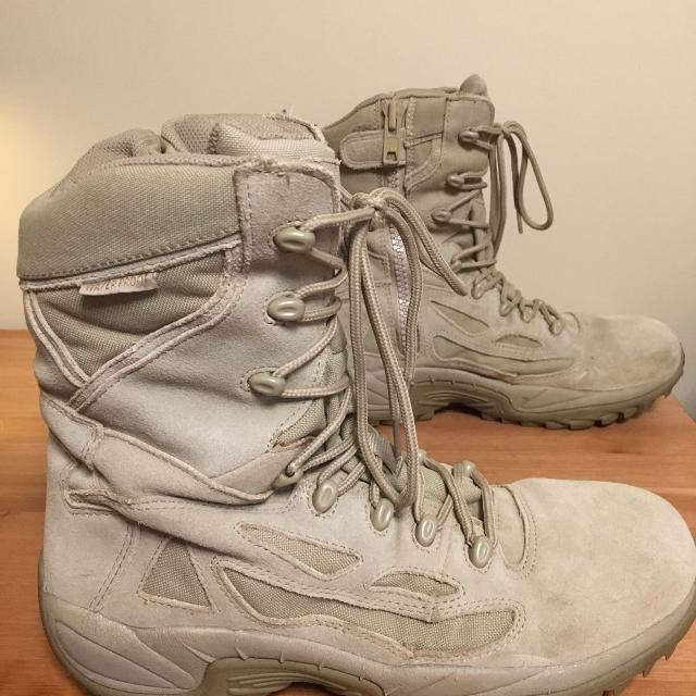 5079723c0ab Converse Military Combat Tactical Boots - Waterproof, Side Zip - Size 12W