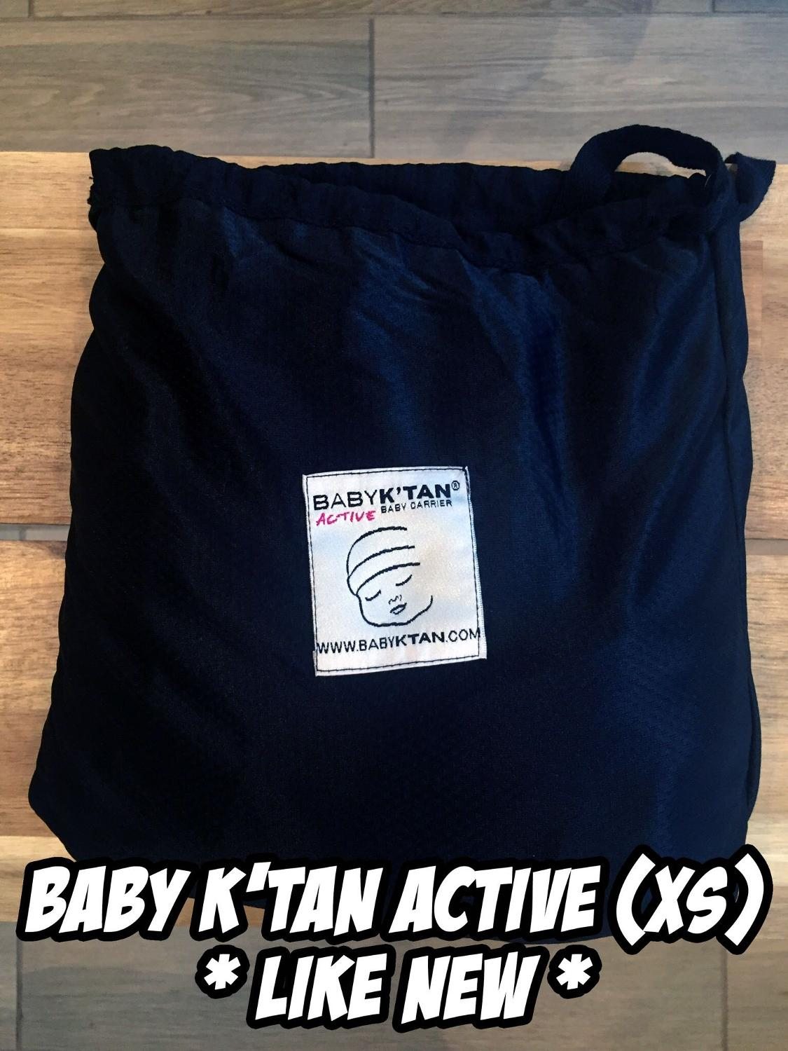 Find More Baby Ktan Active Carrier Wrap Xs For Sale At Up To 90 Off Black