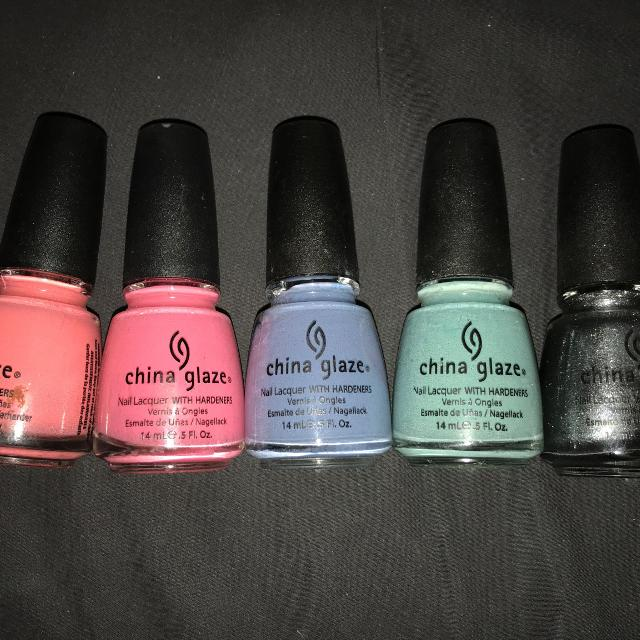 Find more Lot Of 5 China Glaze Nail Polish for sale at up to 90% off