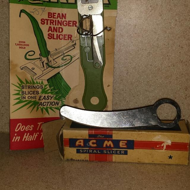 Vintage Krisk & Acme Spiral Slicer