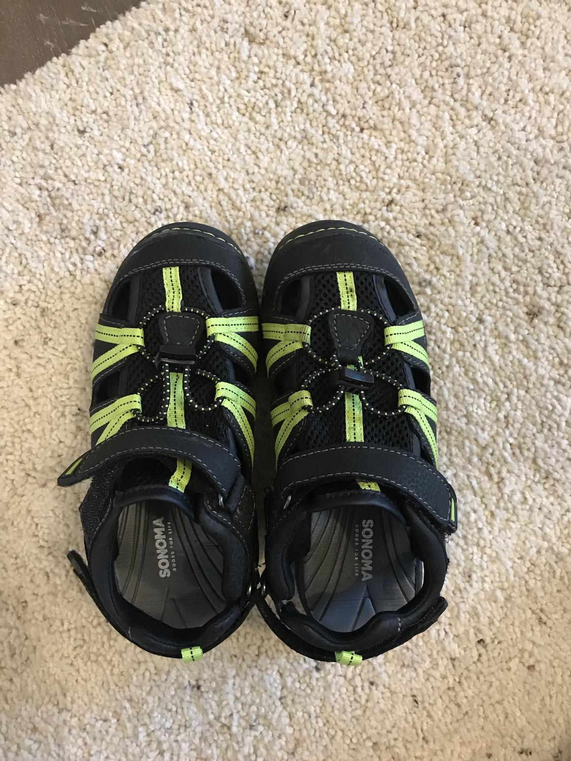 91bb981e0b0c9 Best Sonoma Boys Youth Sport Sandals. Goods For Life. Worn One Time. Size 1  Medium. Great Condition. Porch Pick Up Tremont for sale in Morton