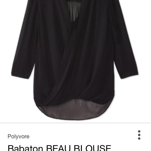 6876fc82797281 Find more Babaton Silk Beau Blouse - Aritzia for sale at up to 90% off