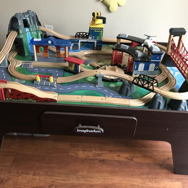 Find more Imaginarium Mountain Rock Train Table for sale at up to 90 ...