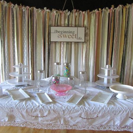 Fabric Strips Backdrop, used for sale  Canada