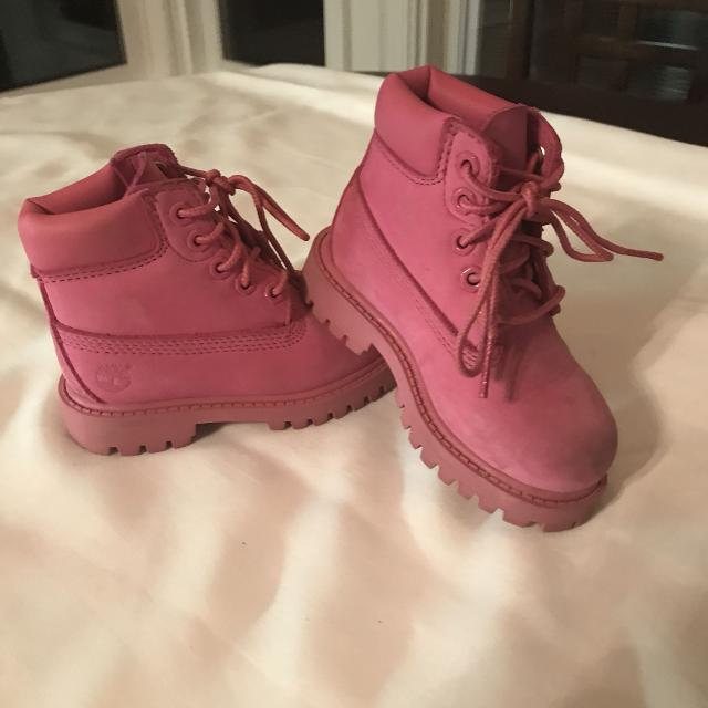 c66096a546 Find more Timberland Boots, Girls Toddler Size 6 for sale at up to ...