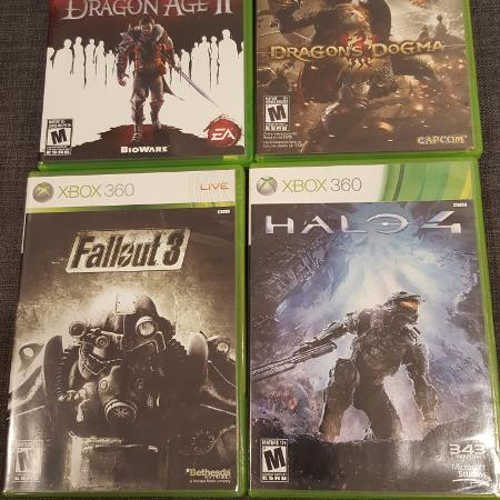 Selling 4 video games for XBOX 360. ... for sale  Canada
