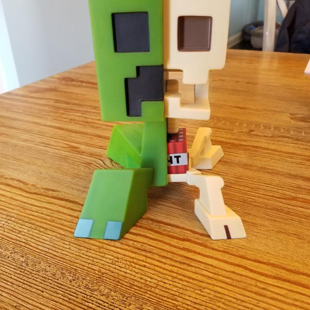 Find More Minecraft Creeper Anatomy For Sale At Up To 90 Off