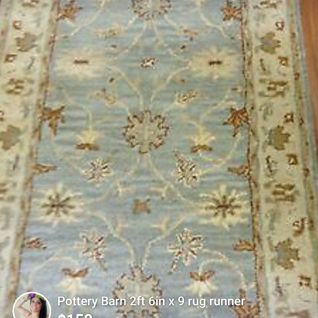 Pottery Barn Rug Runner