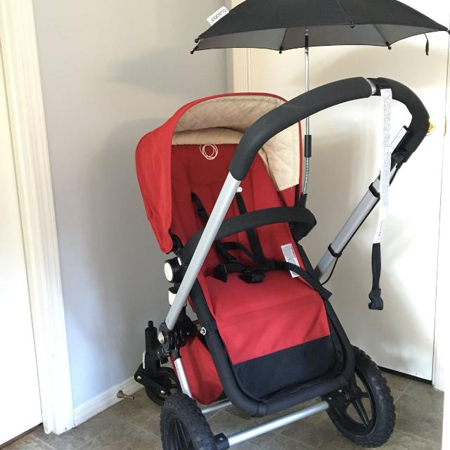 Veuc Bugaboo Frog Stroller With Bassinet Rain Cover Bug Screen Parasol