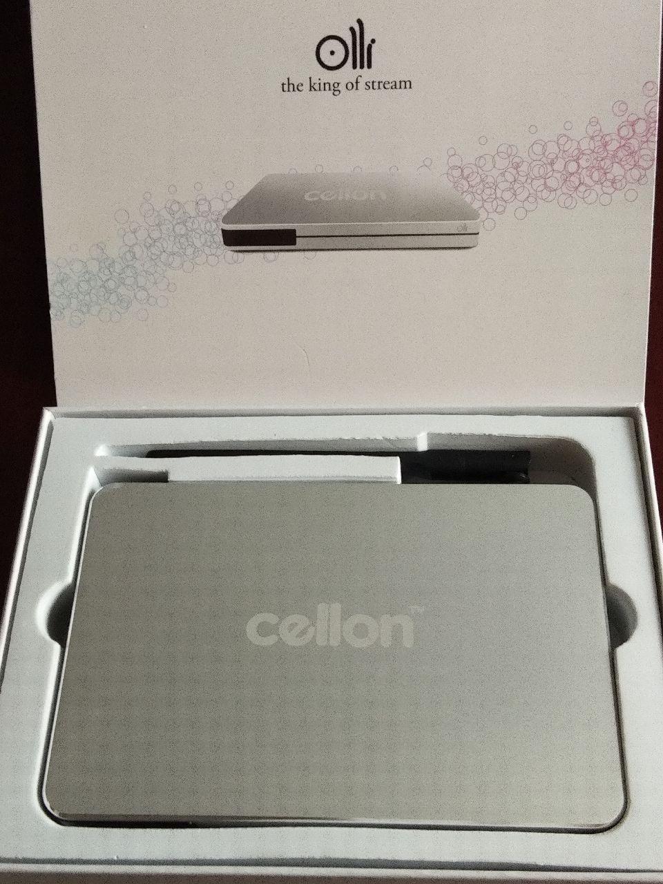 Avov TV online 4K and Cellon iptv box