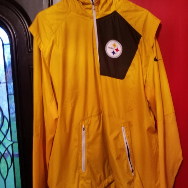 low priced f5db8 78b18 Pittsburgh Steelers Rain Hoodie