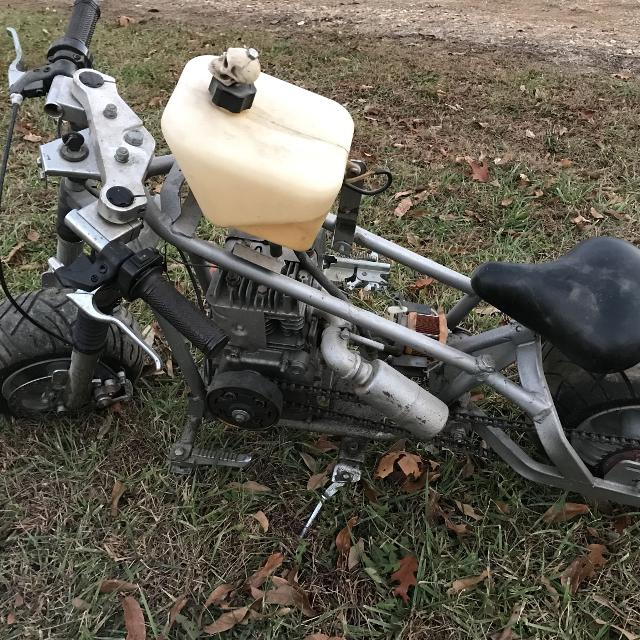 custom mini bike made out of pocket bike frame with 35 briggs n stratton - Mini Bike Frames For Sale