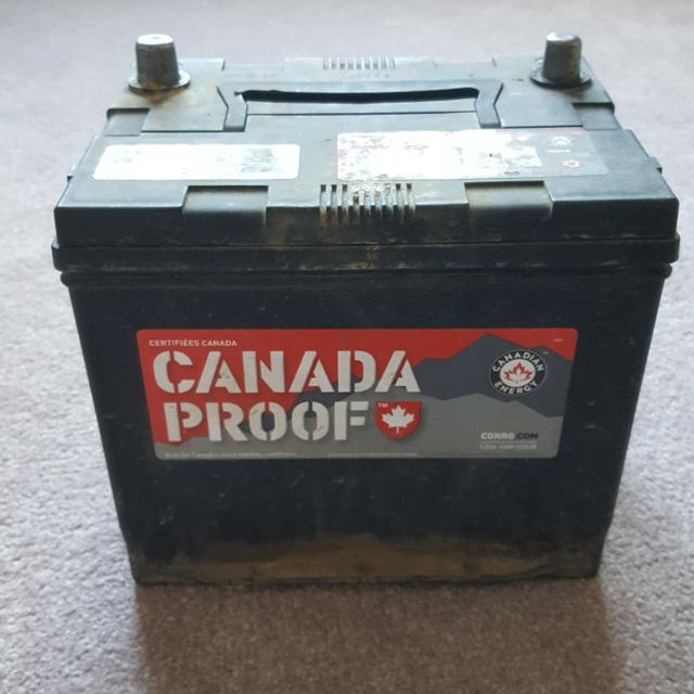Reduced Car Battery