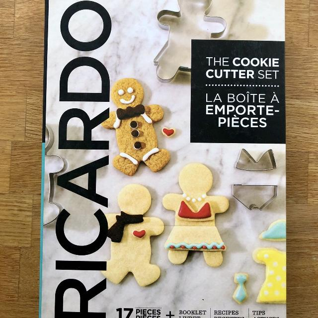 Ricardo Boutique The Cookie Cutter Set Bnip Reduced