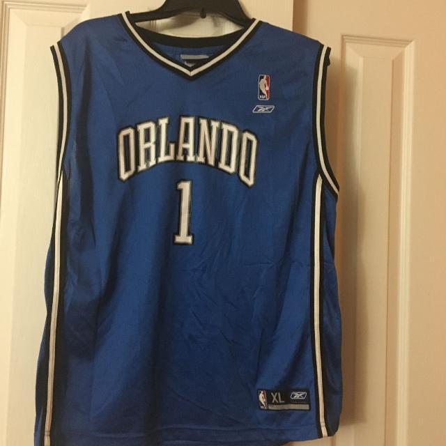 online retailer 5b06e 1dab0 Tracy mcgrady Orlando magic jersey
