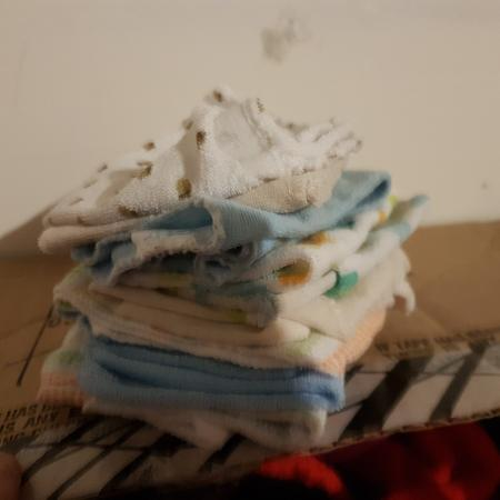 Used, Asst baby face cloths in New... for sale  Canada