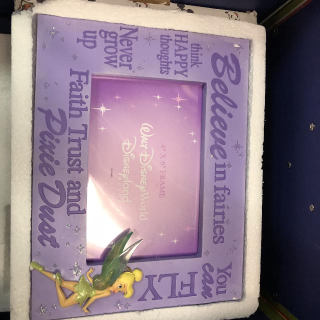 Best Wdw Tinkerbell Photo Frame Brand New In Packaging - $10 for ...