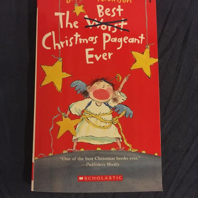 class set of 24 the best christmas pageant ever - The Best Christmas Pageant Ever Book