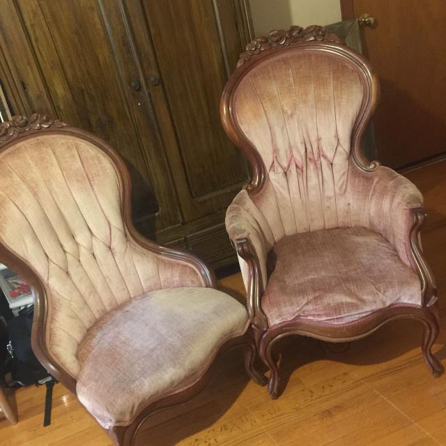 find more kimball victorian parlor chairs set for sale at up to 90 off