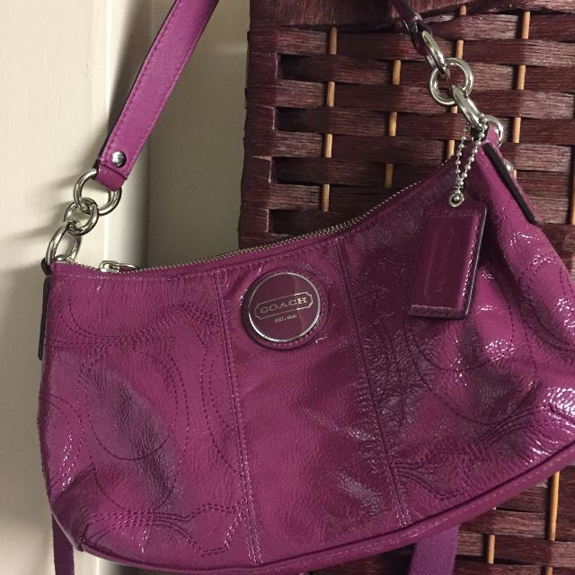 Small Pink Coach Purse 689298af3d796