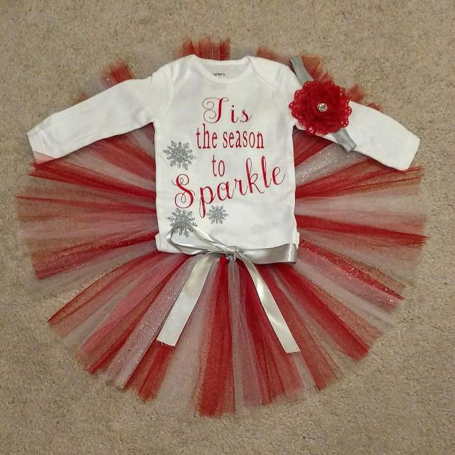 a3f7a56aacf56 Best 6 Month Christmas Tutu Outfit for sale in Richmond, Virginia for 2019