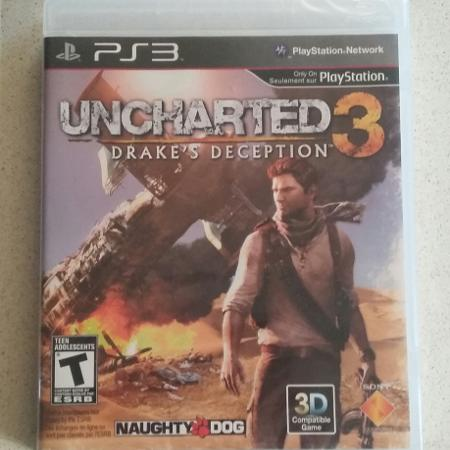 BNIP uncharted 3 Drake's deception PS3 for sale  Canada