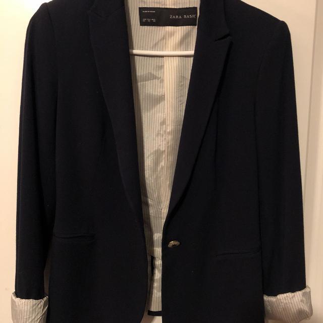 e14248c4 Best Zara Basic Blazer (dark Blue) for sale in Vancouver, British Columbia  for 2019