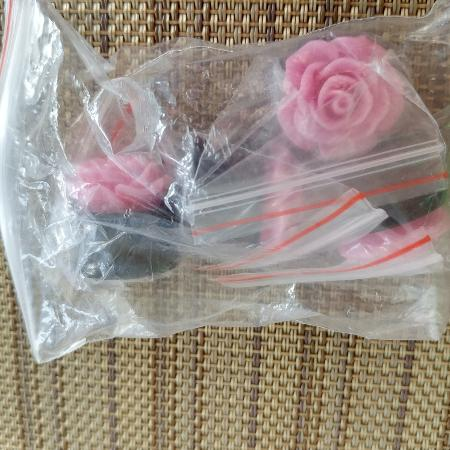Rose spacers/ear guage **new for sale  Canada