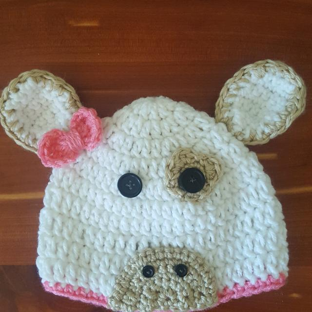 Best Crocheted Cow Hat For Sale In Ashland City Tennessee For 2019