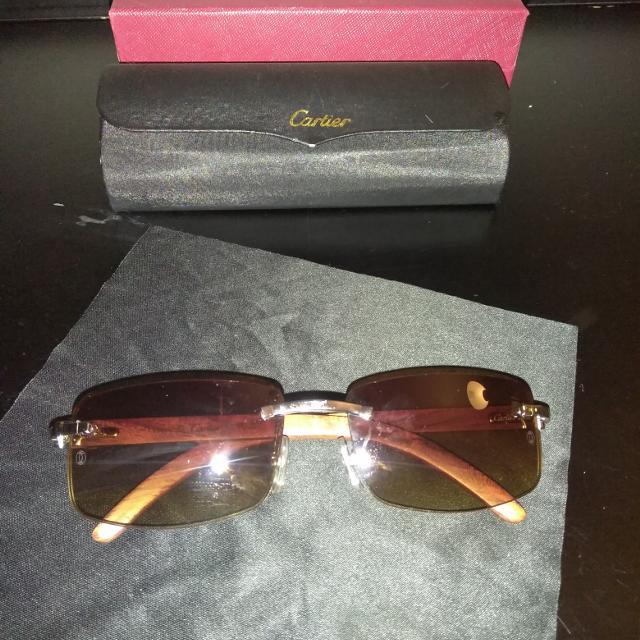 91ab0401af59 Best Sliver Cartier Buffalo Sunglasses for sale in Taylor