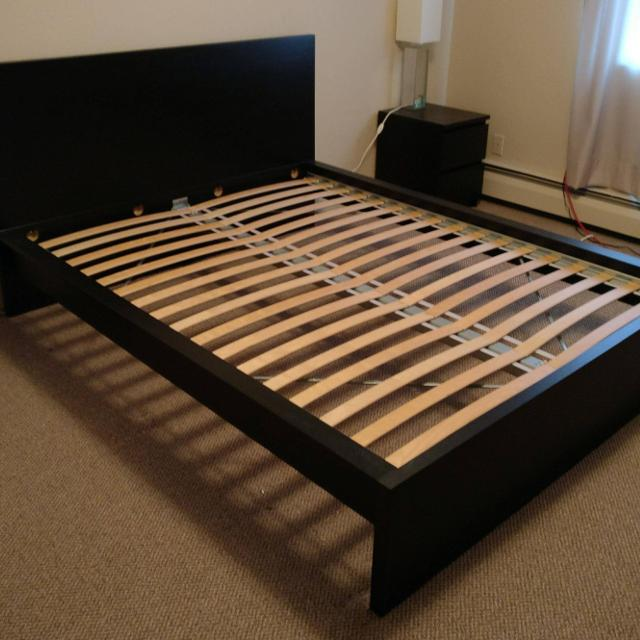 find more ikea queen malm bed frame perfect condition