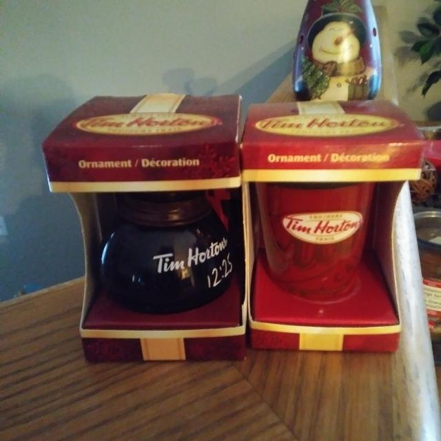 TIM HORTONS Christmas Ornaments - Find More Tim Hortons Christmas Ornaments For Sale At Up To 90% Off