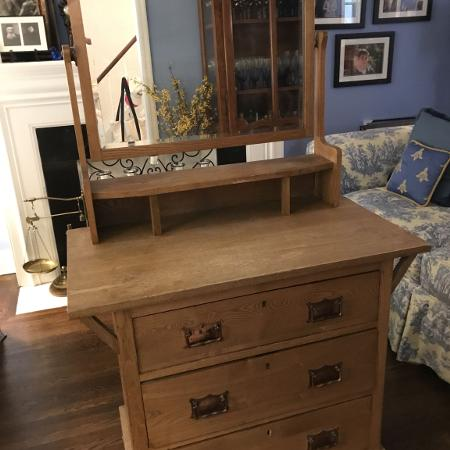 Very old brown oak chest in very good... for sale  Canada