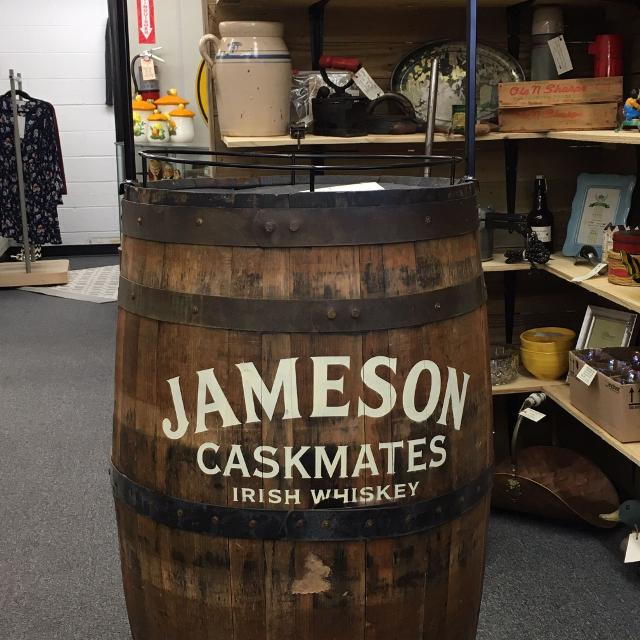 Find More Jameson Irish Whiskey Barrel Store Display Has Three