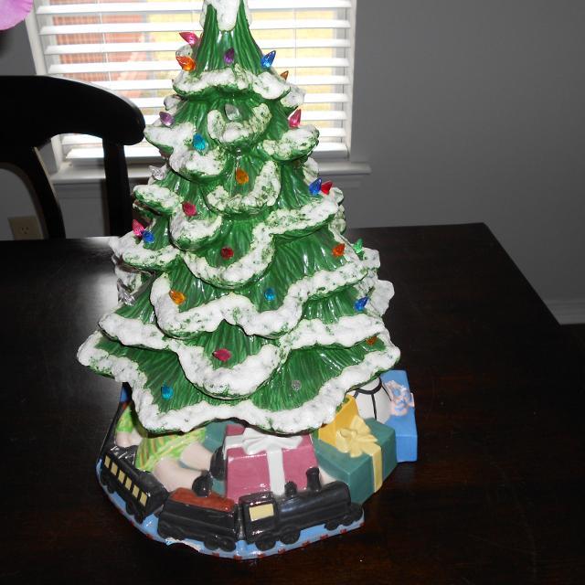 vintage ceramic christmas tree price drop - Vintage Ceramic Christmas Tree