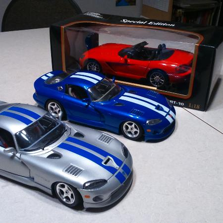 Dodge Viper collection (50 cars) for sale  Canada