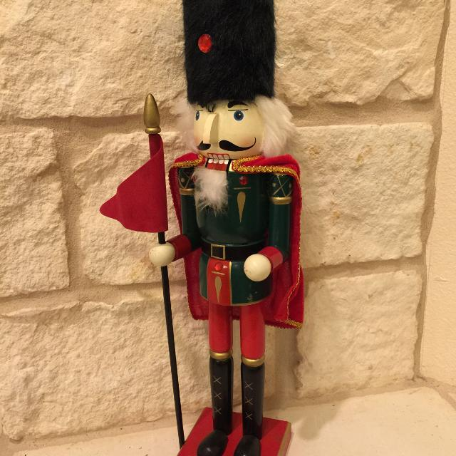 18 inch tall wood decorative nutcracker toy soldier christmas decoration tsbox - Toy Soldier Christmas Decoration