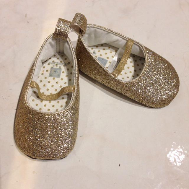 f7d0e87f70b8 Best Carter s 0-3 Months Gold Glitter Shoes for sale in North Delta ...