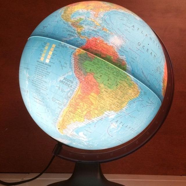 Find more world map sphere globe spins and lights up for sale at world map sphere globe spins and lights up gumiabroncs Gallery