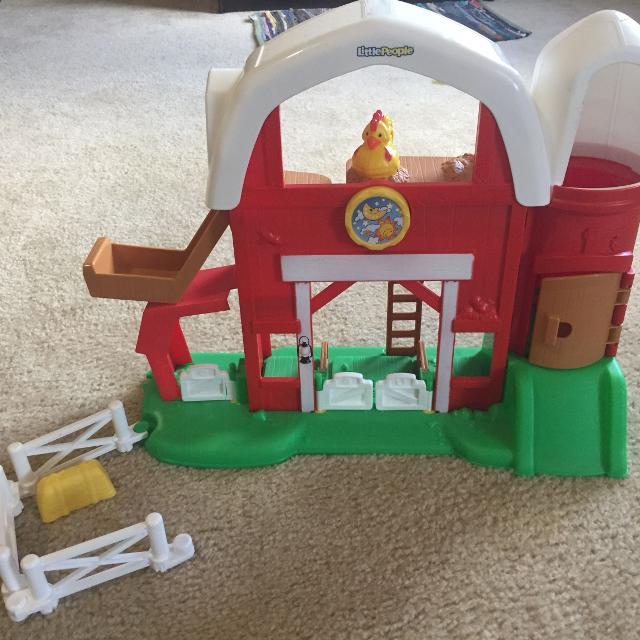 Find More Fisher Price Little People Farm With Sound For Sale At Up