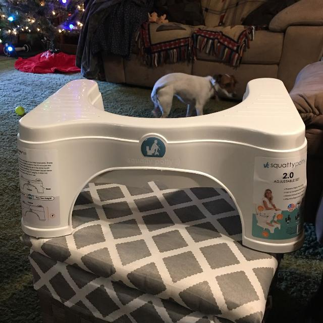 ad4c870f3df Best Brand New  Squatty Potty® 2.0 Adjustable Combo Toilet Stool In White  for sale in Brazoria County
