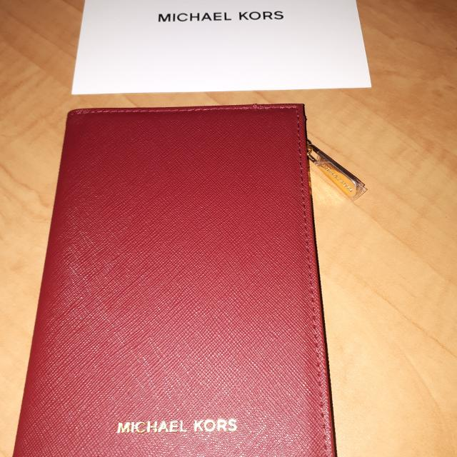 945c40f31204 Find more Brand New Michael Kors Passport Holder for sale at up to ...