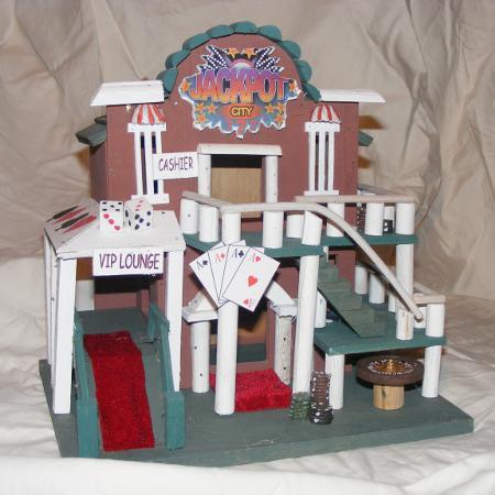Jackpot City Birdhouse, used for sale  Canada