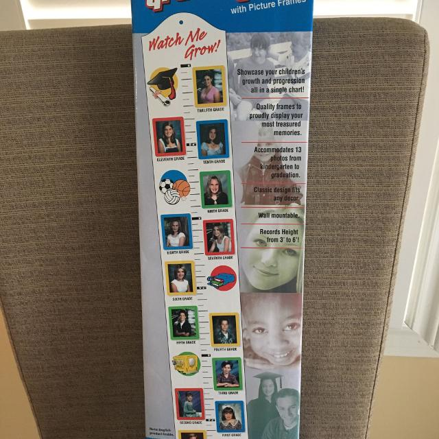 Best Growth Chart With Picture Frames For Sale In Stouffville